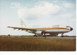 PHOTO AVIATION Avion Avions A300B F- Airbus A 300 B.-Aérospatiale PHOTO Format  17 X 12 Cms. - Aviation