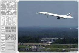 Concorde Stam-p-ed Ca-rd 0959 - 5 - 1946-....: Moderne