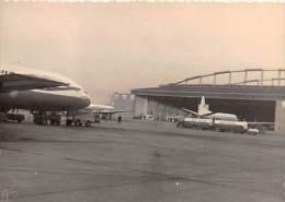 """01347 """"AVIORIMESSA DELL'AEROPORTO DI LINATE (MI) - ARCH. DANUSSO - 1936"""" ANIMATA, FOTOGRAFIA ORIGINALE. - Aviazione"""