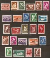 BULGARIE   -   1960 / 62   .    L O T  .  Métiers  Dont  Surchargés. - Bulgaria