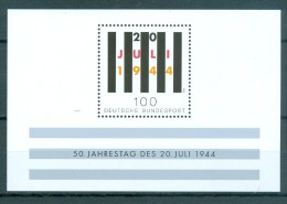 BUND - Block Mi-Nr. 29 Attentat Auf Adolf Hitler Postfrisch - BRD