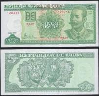 Cuba P 116 - 5 Pesos 2007 - UNC