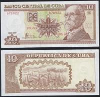 Cuba P 117 - 10 Pesos 2009 - UNC