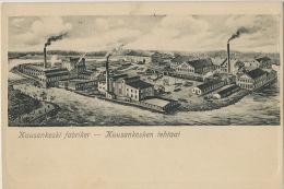 Kuusankoski Fabriker  Kuusankosken Tehtaat Edit Dr Trenkler Leipzig - Finlande