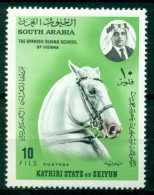 Sud Arabie /  Soth Arabia( Etat De Seiyun) Mnh*** - Pferde