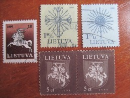 Lithuania  Miscellaneous Standart Issues  Used - Lituania