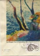 SIBOC Equioment Bureau Informatic PUTEAU 23/9/1973 , Yvert 1754 Raton Laveur De La Guadeloupe - Knaagdieren