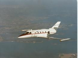 AVIATION Avion Avions CORVETTE F - WRNZ  (Aerospatiale)  ETAT = Voir Description- PHOTO Format 24 X 18 Cms - Aviation