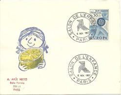 Salon De L'enfance Paris 6/11/1967 Yvert 1490 Europa - Andere