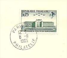 FDC 50 Anniversair De L'ecole De L'air Salon De Provence  Yvert 1463 Et Armoires De Ville Amiens - FDC
