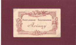 PARFUMERIE ARIANY SAVONNERIE - Cartes Parfumées