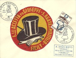 Bol D' Air Des Gamins De Paris 7/12/1964  Yvert 1442 Cooperation Avec Madagascar - Kindertijd & Jeugd
