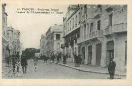 "CPA MAROC ""Tanger, Bld Pasteur"" - Tanger"