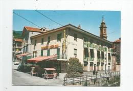 Cp , Commerce , Restaurant , Italie , GARESSIO , Albergo PONTE ROSA , Voyagée 1983 , Ed : Brunner - Restaurants