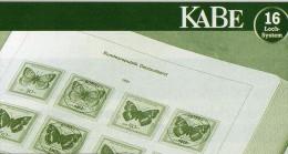 Album Farbe Braun Für KABE Vordruck-Texte Neutral 36€ Als Ringbinder Für Komplett-Album Bewährte Ausführung Made Germany - Pin's & Anstecknadeln
