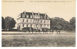 LA HAIE-FOUASSIERE - Château Du Hallay - Chapeau 226 - Non Circulée - Tbe - France