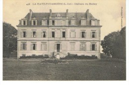 LA HAIE-FOUASSIERE - Château Du Hallay - Vasselier 476 - Non Circulée - Tbe - France