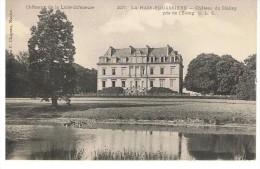 LA HAIE-FOUASSIERE - Château Du Hallay, Pris De L'étang - Chapeau 227 - Non Circulée - Tbe - France