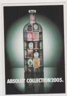PROMOCARD N°  5996   ABSOLUT COLLECTION 2005 - Pubblicitari