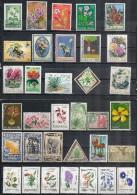 Flora/Flore: Lotto Di 34 Pezzi, Lot Of 34 Pieces, Lot De 34 Pièces - Plants