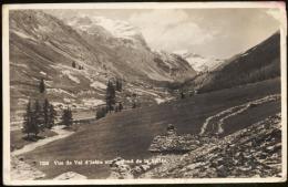 7256- Vue Du Val D´Isère Sur Le Fond De La Vallée. - Val D'Isere