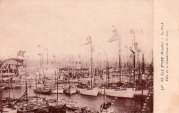 Cpa(85) Ile D Yeu -le Port Fete De La Benediction De La Mer (tres Belle Cpa Ra...) - Ile D'Yeu
