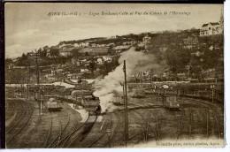 Dpt 47 Agen Ligne Bordeaux - Cette Et Vue Du Coteau De L'Hermitage Animée 1910 Neuve TBE - Frankreich
