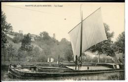 Dpt 54 Bainville Aux Miroirs Péniche à Voile Sur Le Canal Animée 1910 Neuve TBE - Frankreich