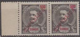 CONGO-1911-  D. Carlos I, Com Sobrecarga «REPUBLICA»  500 R.   ( PAR )  ** MNH   Afinsa Nº 73 - Portuguese Congo
