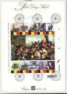 BELGIE  Fdc FIRST DAY SHEET OCB Bl119 Bl 119 175 Jaar Belgie - FDC