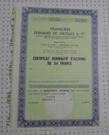 Financiere Fernand De Drouas à Bordeaux - Banque & Assurance