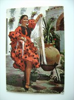 ESPANA SPAIN SPAGNA  COSTUME   VIAGGIATA  COME DA FOTO - Costumi