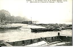 Dpt 75 Paris Inondations Janvier 1910 Travaux Du Pont Des Invalides Ed ELD - Frankreich