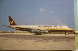 INTERNETIONAL AIR  DC 8 55F   HP 950 - 1946-....: Moderne
