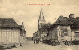 10 Ramerupt. Rue De L'Eglise - France