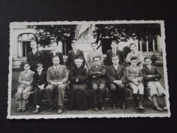 EPINAL (Vosges) - ECOLE - LYCEE CATHOLIQUE - Classe 2e A A - Année 1935-36 - Carte-photo - Non Voyagée - Cliché TOP ! - Epinal