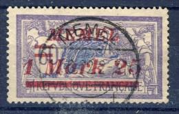 ##K1190. Memel 1922. Michel 65. Cancelled . - Memel (1920-1924)