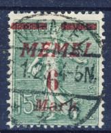 ##K1200. Memel 1922. Michel 111. Cancelled . - Memel (1920-1924)