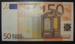 50 EURO J092E3 DRAGHI Serie S Italy Italia Perfect UNC - 50 Euro