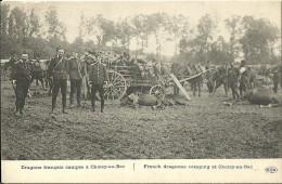 Dragons Francais Campes A Choisy Au Bac - Militaria