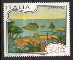 Italia Rep. 1986 - Turismo Turistica 13a Emissione Acitrezza - 1981-90: Usados