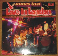 Disque 550 Vinyle 33 T James Last Live In London - Other - German Music