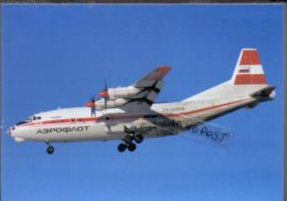 ANTONOV Postcards AN 12 Aerei Aeroflot Air AN12 Aereo Groupe Avion Lot AN-12 Aircraft Aviation Aiplane - 1946-....: Era Moderna