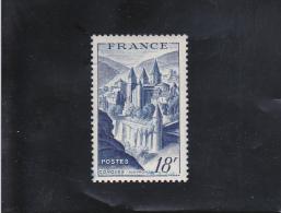 ABBAYE DE CONQUES NEUF ** N° 805 YVERT ET TELLIER 1948 - France