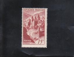ABBAYE DE CONQUES NEUF ** N° 792 YVERT ET TELLIER 1947 - France