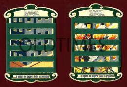 PORTUGAL - A PATRIA - COMPANHIA DE SEGUROS - CALENDARIO BRINDE - 1946 OLD ADVERTISING CALENDAR - Calendriers