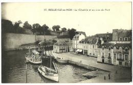 56 Belle île En Mer Citadelle Et Coin Du Port Scan Recto Verso - Belle Ile En Mer