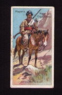 Petite Image (trade Card) Cigarettes John Player, « Riders Of The World » (cavaliers), N° 39, Chef Afghan - Player's