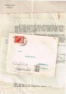Correros Huacho Pérou 1936  Flamme Correos Del Peru Lima 21.IX.1936 Avec Correspondance - Peru