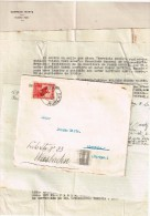 Correros Huacho Pérou 1936  Flamme Correos Del Peru Lima 21.IX.1936 Avec Correspondance - Pérou